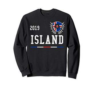 Iceland Football Jersey 2019 Icelandic Soccer Jersey Sweatshirt