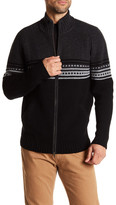 Autumn Cashmere Mock Neck Dual Zip Jacket