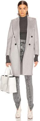 Max Mara Alba Coat in Pearl Grey | FWRD