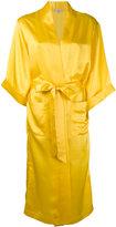 Natasha Zinko wrap coat - women - Silk - 34