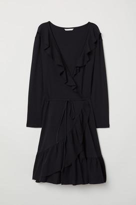 H&M Wrap Dress with Flounces