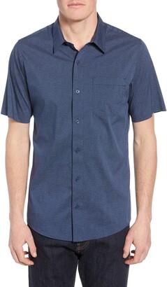 Travis Mathew TravisMathew Particles Spot Print Regular Fit Shirt