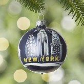 Crate & Barrel City New York Ball Ornament