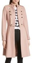 Alice + Olivia Women's Rossi Wool Blend Military Coat