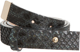 Paul & Joe 100% Python Belt
