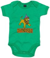 Brand88 Gryffindorable, Printed Baby Grow - 3-6 Months