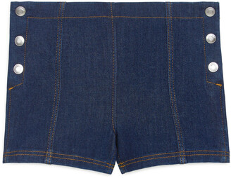 Arket Sailor Denim Shorts