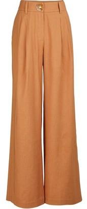 REJINA PYO Eddie linen blend pants