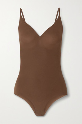 HEIST The Outer Shaping Bodysuit - Light brown