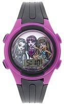 Mattel Girl's Quartz Plastic Casual Watch, Color:Black (Model: MHKD278CT)