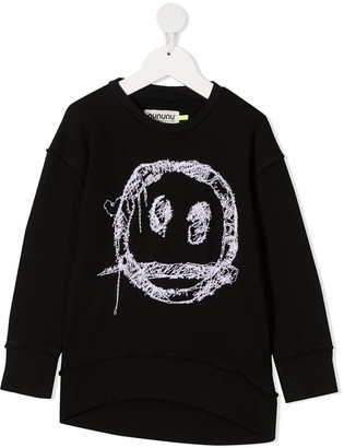 Nununu Smiley Embroidered Sweatshirt