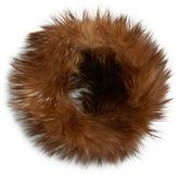 Adrienne Landau Dyed Fox Fur Headband