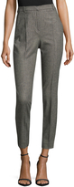 The Kooples Women's Houndstooth High-Waisted Trouser
