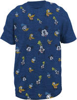 JCPenney Novelty T-Shirts Disney Heads Graphic Tee