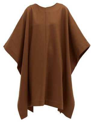 A.P.C. X Suzanne Koller Margarete Wool-blend Dress - Brown