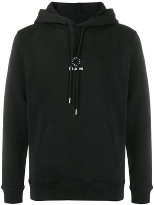 Études logo drawstring hoodie