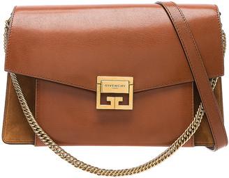 Givenchy Medium Leather GV3 in Chestnut | FWRD