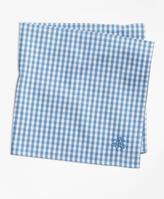 Brooks Brothers Supima® Cotton Gingham Pocket Square