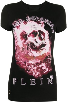 Philipp Plein graphic print T-shirt