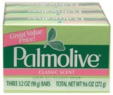 Palmolive Classic Scent Bar Soap 3.2oz, 3 Pack