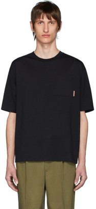 Acne Studios Black Pocket Boxy Fit T-Shirt