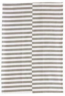 Gio Stripe Tea Towel, Slate