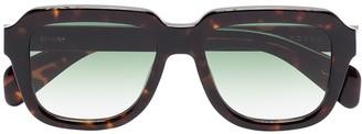 Chimi Voyage Navigator square-frame tortoiseshell-effect sunglasses