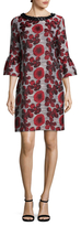 Karl Lagerfeld Floral Jacquard Dress