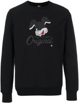 Paul Smith rabbit print sweatshirt