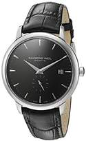 Raymond Weil Men's 'Toccata' Quartz Stainless Steel Casual Watch, Color:Black (Model: 5484-STC-20001)