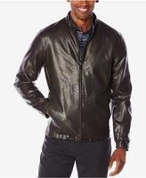 Perry Ellis Men's Snap-Tab Bomber Jacket