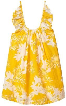 Seafolly Mini Me Wild Tropic Frill Dress (Toddler/Little Kids)