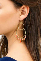 Gorjana Eliza Coral Earrings