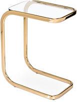 Interlude Saber Hugging Side Table, Brass