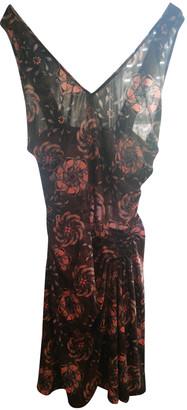 Galliano Black Polyester Dresses