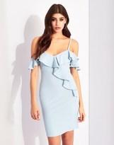 Lipsy Cold Shoulder Ruffle Cami Dress