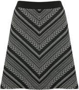 M&Co Chevron a-line skirt