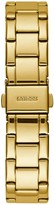 GUESS Sugar Crystal Gold Glitz Logo Dial Bracelet Watch
