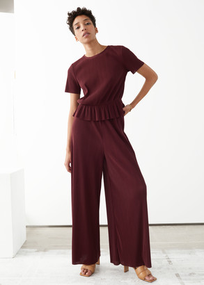 And other stories Relaxed Wide Trousers