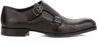 To Boot Double Monk Strap Oxfords