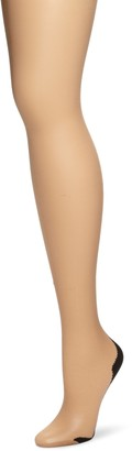 Pretty Polly Womens Nylon Backseam Tights Nude Medium/Large