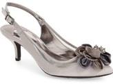 J. Renee 'Adderly' Kitten Heel Slingback Pointy Toe Pump (Women)