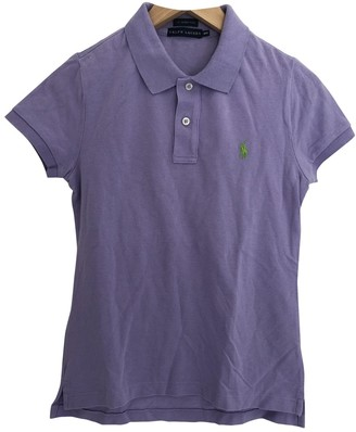 Ralph Lauren Purple Cotton Top for Women