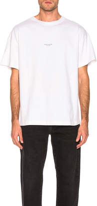 Acne Studios Jaxon Tee in Optic White | FWRD
