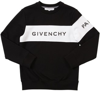 Givenchy Logo Print Cotton Sweatshirt