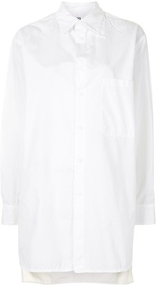 Y's Double-Collar Cotton Shirt