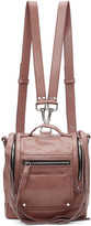 McQ by Alexander McQueen Pink Mini Convertible Box Backpack