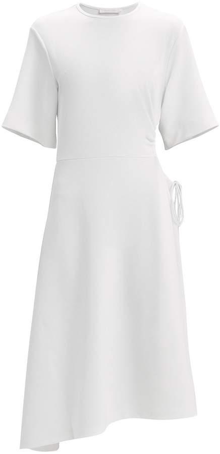 f8a32ac906 Drawstring Waist Cutout Dress