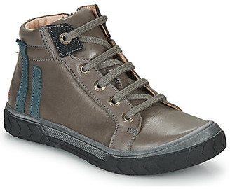 GBB OSKOF boys's Shoes (High-top Trainers) in Grey