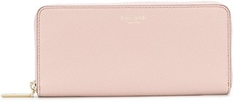 Kate Spade Margaux continental logo print wallet